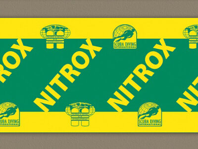 TDI SDI Nitrox Tank Decal – Small