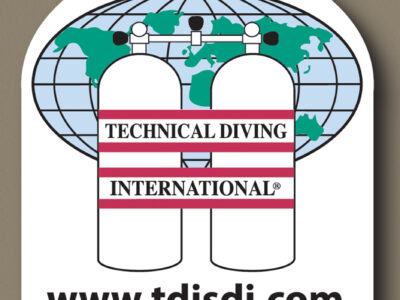 TDI Dive Centre Window Sticker